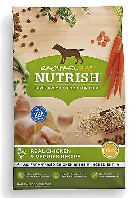 Rachael Ray Nutrish Natural Dry Dog Food, Real Chicken & Veggies Recipe (40lbs)