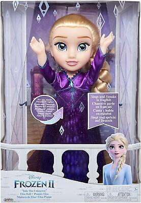 Disney Frozen 2 - Singing Elsa Toddler Doll BRAND NEW
