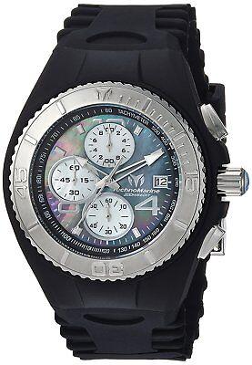 Technomarine Tm 115349 Cruise Mens 46Mm Jellyfish Chronograph Mop Rubber Watch