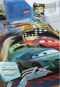 disney cars full size comforter set reversible boys blue bedding