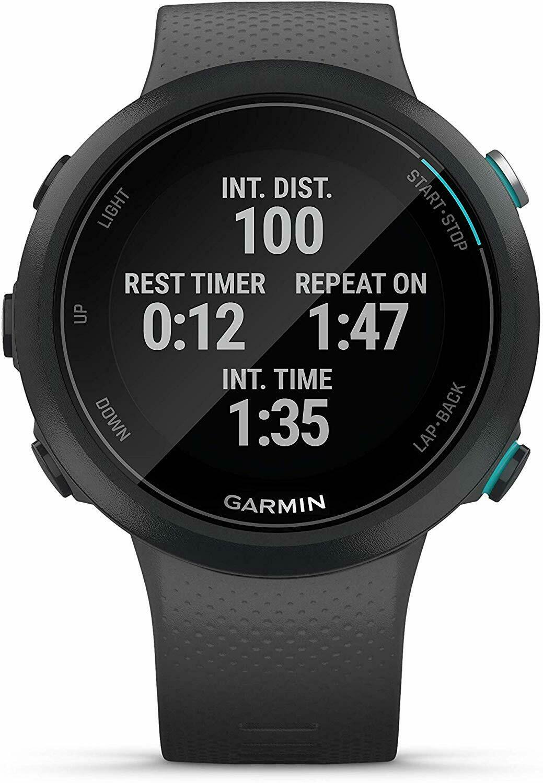 Garmin Swim 2 advanced swimming GPS smartwatch color slate
