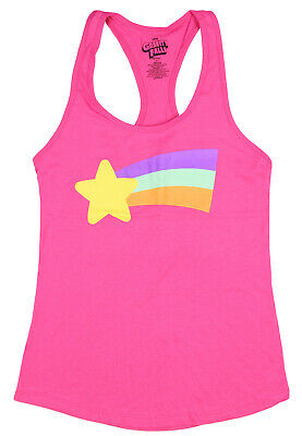 Gravity Falls Juniors Mabel Rainbow Racerback Tank Top