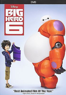 Big Hero 6   Dvd  2015   Anime  Family   Kids  Adventure Shipping Now
