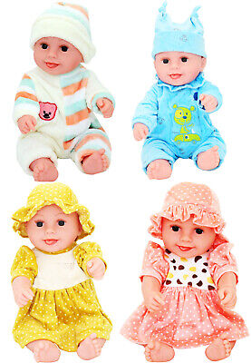 New 18 Inch Large Size Soft Baby Doll Baby Girl Boy Cheeky Face Doll With Sounds