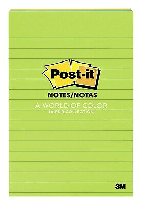Post-it Notes 4 X 6 Jaipur Collection Lined 100 Sheetspad 873986