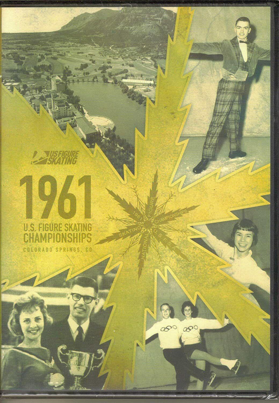 1961 U.S. Figure Skating Championships Colorado Springs, CO DVD NIP - $4.50