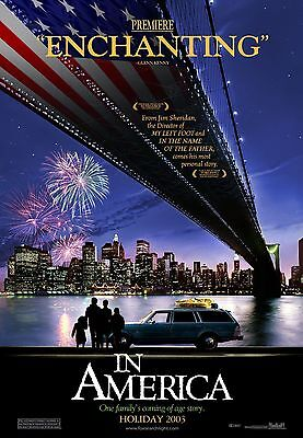 In America Original Double Sided Advance Rolled Movie Poster 27X40 New 2002