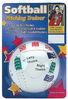 CHRISTIE AMBROSI SOFTBALL PITCHING TRAINER Pitcher Training Aid 11 inch BALL