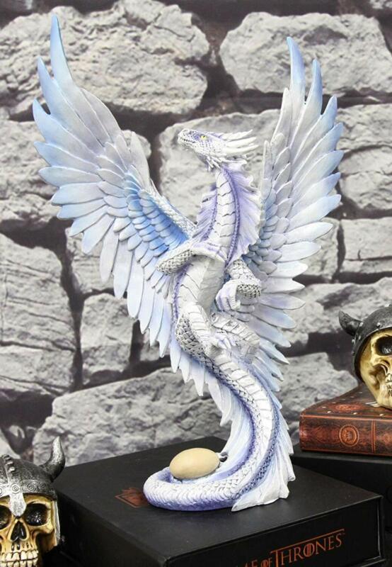 "Ebros Sandstorm Cloud Wind Dragon Adult Mother 12""H Figurine Anne Stokes Fantasy"