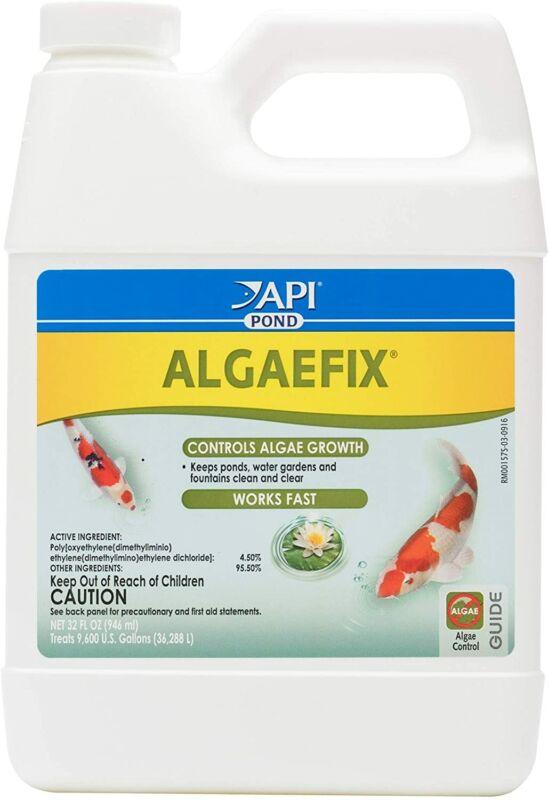 API POND ALGAEFIX Algae control, Effectively controls Green water algae