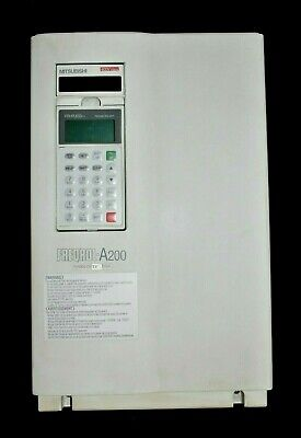 Mitsubishi Fr-240e-11k-tf Vfd Inverter Ac Drive Freqrol A200 Series 20hp 460v