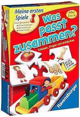 Baby Ravensburger erste Spiele Was passt zusammen Education Spielzeug