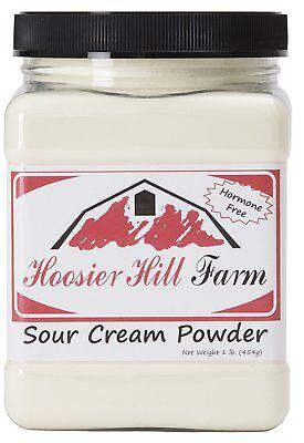 Hoosier Hill Farm Sour Cream Powder, 1 Pound, New, Free Shipping
