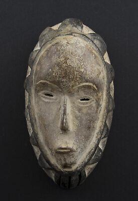 Masquette Mask African Fang Ngon Ntang Gabon 15cm Grade Art First 16769