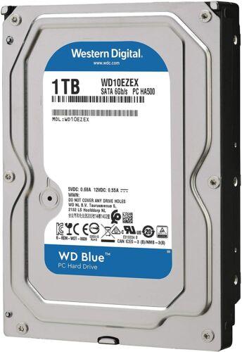 """Western Digital 1TB(1000GB) 7200RPM 3.5"""" SATA 6Gb/s Desktop Hard Drive(WD10EZEX)"""