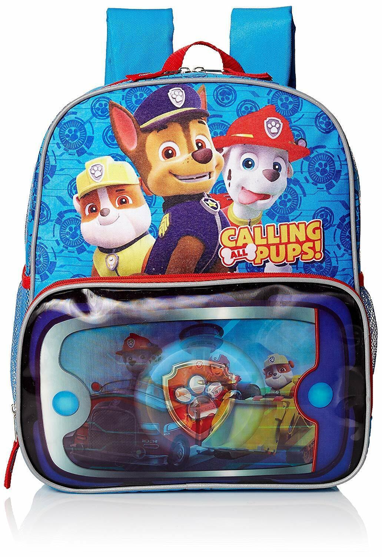 paw patrol school book bag backpack kids