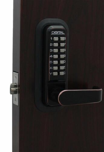 New Lockey 2900 Mechanical Keyless Deadbolt, Color: Oil Rubbed Bronze w/warranty