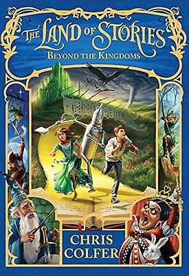 The Land of Stories: Beyond the Kingdoms by Chris Colfer (Hardcover) New.... on Rummage