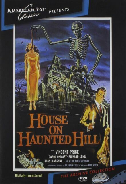 House on Haunted Hill (1959 Alan Marshal) - Region Free DVD - Sealed