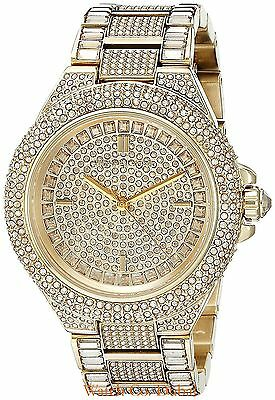 Michael Kors MK5720 Camille Crystal Pave Quartz Stainless Steel Watch