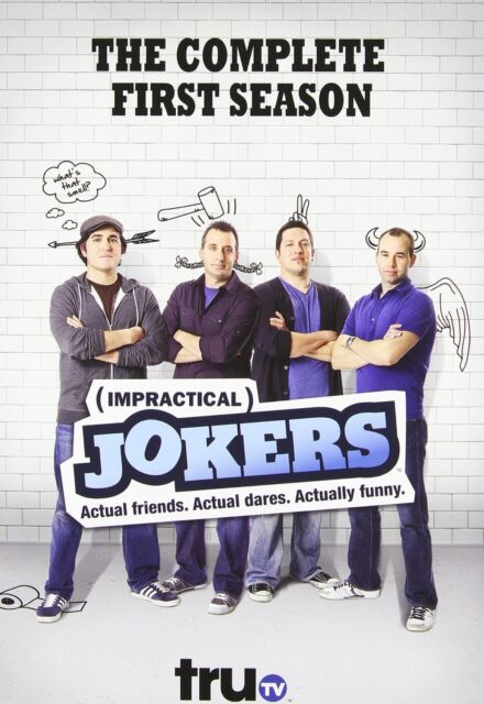 IMPRACTICAL JOKERS - COMPLETE SEASON 1 -  DVD - REGION 1 - Sealed