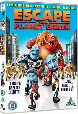 Escape From Planet Earth [2017] (DVD)