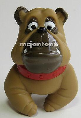 LOOSE McDonald's 1988 Oliver & Co. FRANCIS BULLDOG Disney Sgl Toy FINGER PUPPET