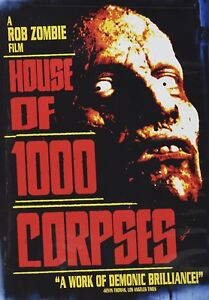 HOUSE OF 1000 CORPSES (NEW DVD) FREE SHIPPING