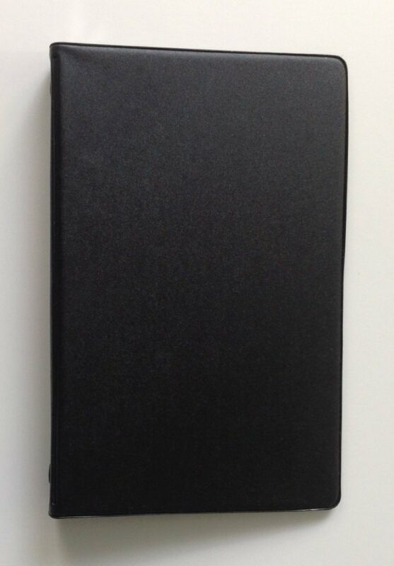 Mead 46000 Small 6-Ring assorted colors Vinyl Loose-Leaf Memo Notebook with 3x5