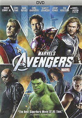 The Avengers (DVD, 2012) Original Movie MARVEL