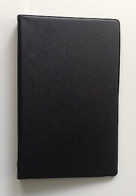 Mead 46000 Small 6-ring Vinyl Loose-leaf Memo Notebook With 3x5 4 Pack