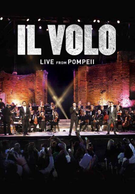 IL VOLO - LIVE FROM POMPEII  DVD NEU