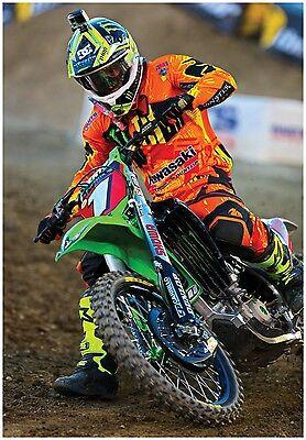 MOTOCROSS POSTER RYAN VILLOPOTO KXF450 #1 dirt bike monster energy thor mx ama