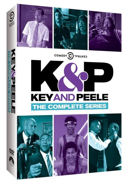 KEY AND PEELE - THE COMPLETE SERIES - DVD - Region 1
