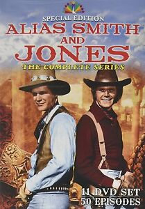 ALIAS SMITH AND JONES :COMPLETE SERIES 1 2 3 SPECIAL EDT - DVD - UK Compatible