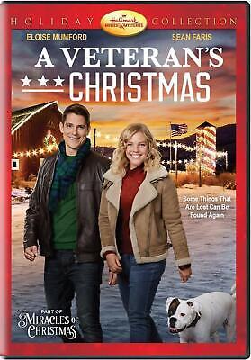 A Veteran's Christmas DVD Sean Faris, Hallmark Holiday Collection - FREE SHIP