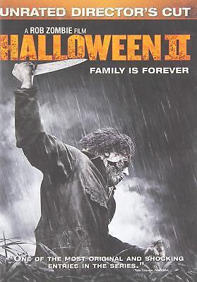 NEW DVD // ROB ZOMBIE // Halloween II // MALCOLM McDOWELL, TYLER MANE