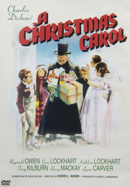 A CHRISTMAS CAROL (1938 Reginald Owen) -  DVD - UK Compatible - New & sealed