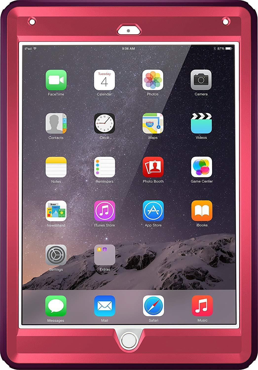 OtterBox DEFENDER SERIES Case for iPad Air 2 - CRUSHED DAMSON