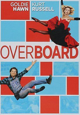 New Overboard  Dvd  Goldie Hawn  Kurt Russell Over Board Movie 1987  2014