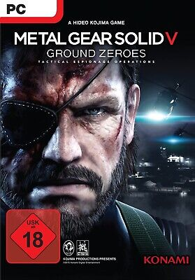 Metal Gear Solid V: Ground Zeroes PC Download Vollversion Steam Code