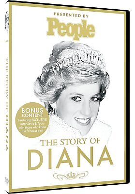 The Story Of Diana [Princess Diana] [Documentary] [DVD] NEW