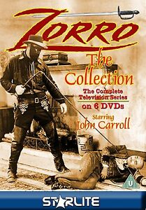 Zorro The Collection Television Series 6 DVD's Westerns NEW