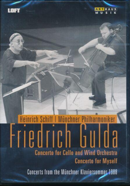 Friedrich Gulda DVD EW Concerto for Cello and WInd Orchestra Heinrich Schiff