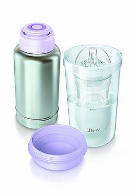 Philips Avent Baby Flaschenwärmer Babyflasche Schnelles Aufwärmen für unterwegs