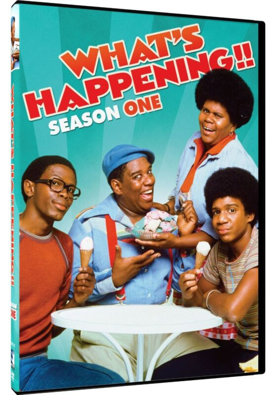 WHAT;S HAPPENING! COMPLETE 1ST SEASON  (DVD, 2014, 2-D)BNISW DAY U PAY ITSHIPS