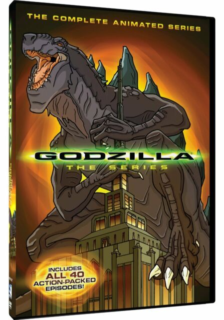 Godzilla The Complete Animated Series Region 1 New DVD (4 Discs)