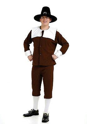 Peter Alan Pilgrim Man Deluxe Adult Costume Size Large 46 Jacket (Pilgrim Man Costume)