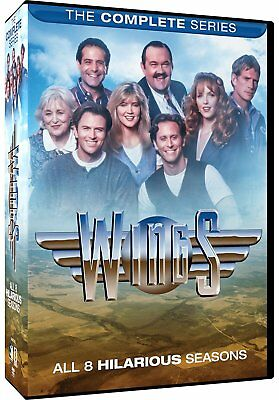 WINGS - The Complete Series New DVD! Ships Fast!