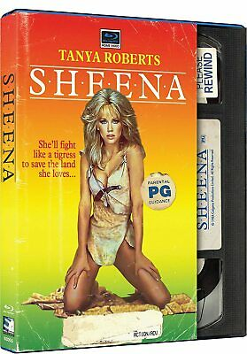 Sheena - Retro VHS Style [Blu-ray] - NEW!!
